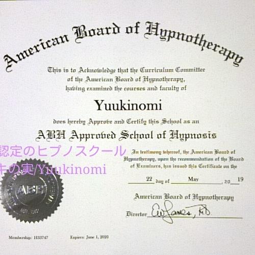 ABHマスターヒプノティスト認定講座 / プロレベル10日間