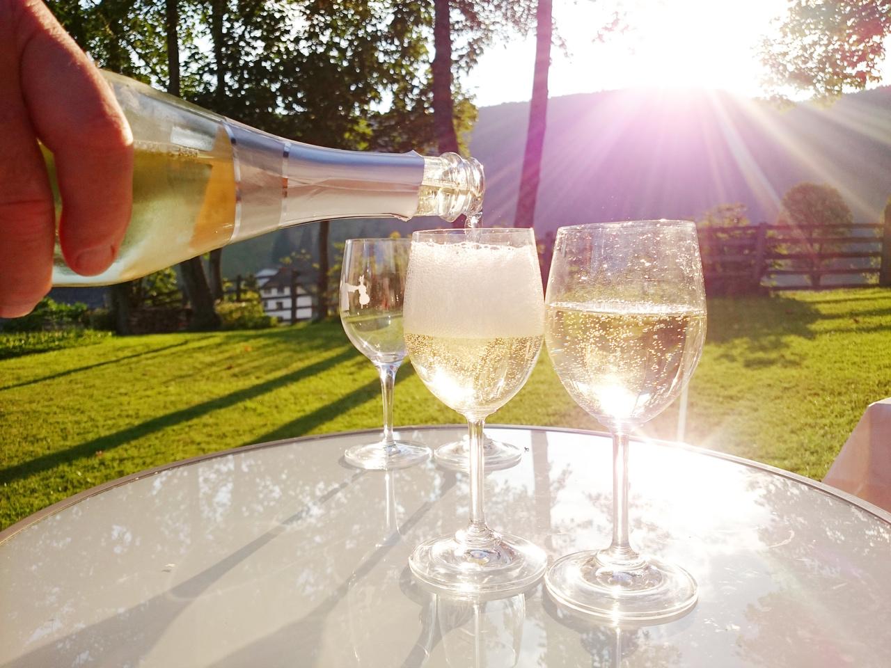 夏においしい スパークリングワイン