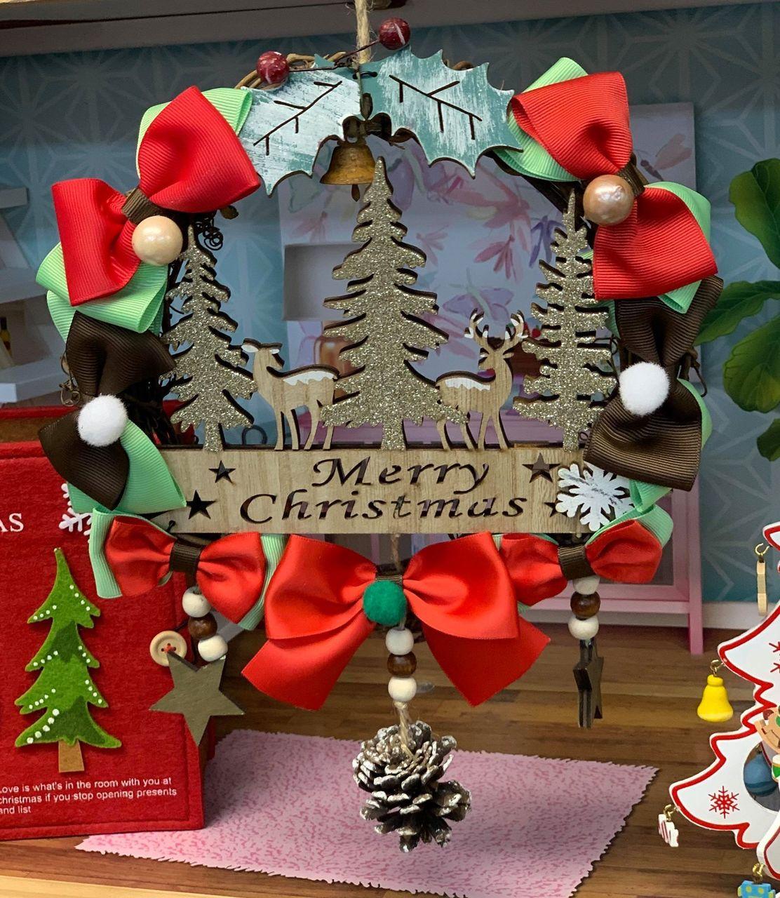 <親子・夫婦限定>【川崎】クリスマスハンドメイドマーケット-リース作り-|2019年12月8日(日)