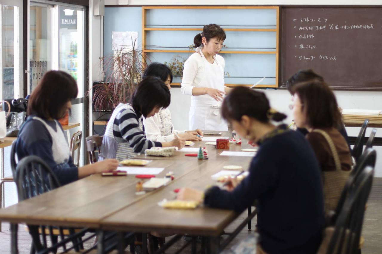 初秋の雑穀料理教室
