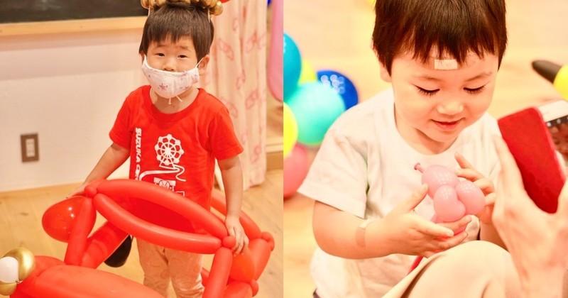 p0p0balloon「バルーンパフォーマーによる親子でカラフル☆バルーン教室」