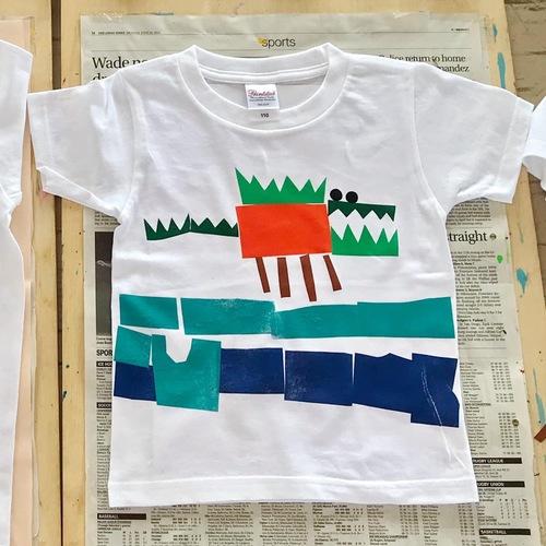 切り絵でオリジナルTシャツ作ろう
