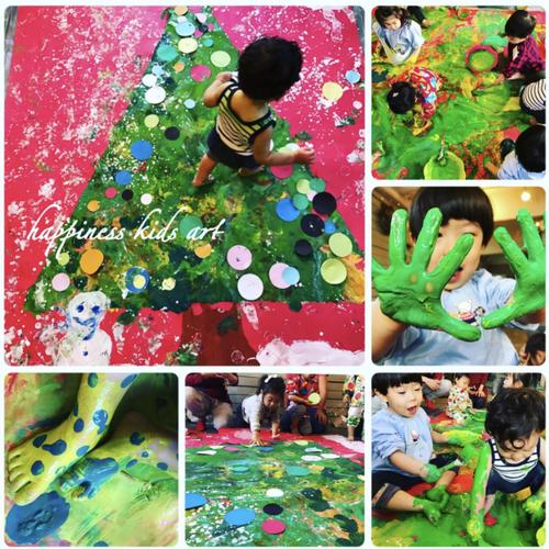12月Angel★大きなクリスマスツリーに雪を降らせよう♪