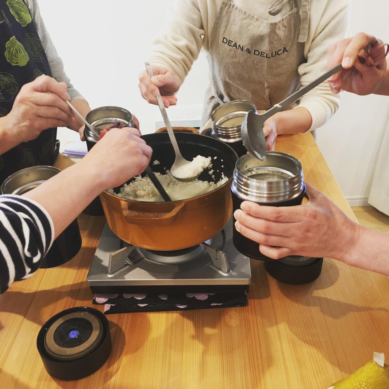 【兵庫県加古川市2020年開催】毎日飲むだけで人生が変わる「水筒で作る甘酒」体験レッスン