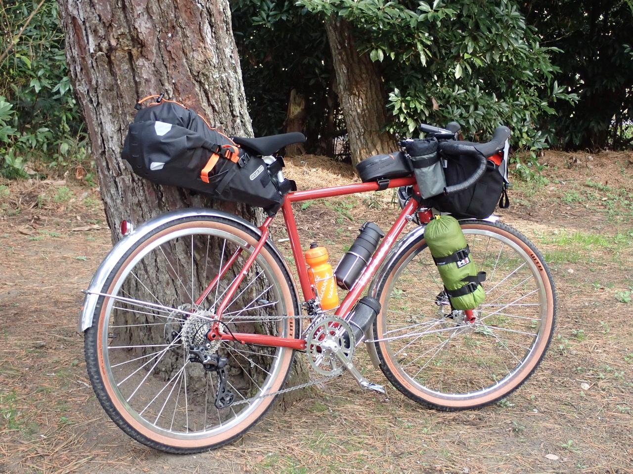 【2021/5/29(土)】自転車とアウトドアを満喫!旅するバイクパッキングの始め方