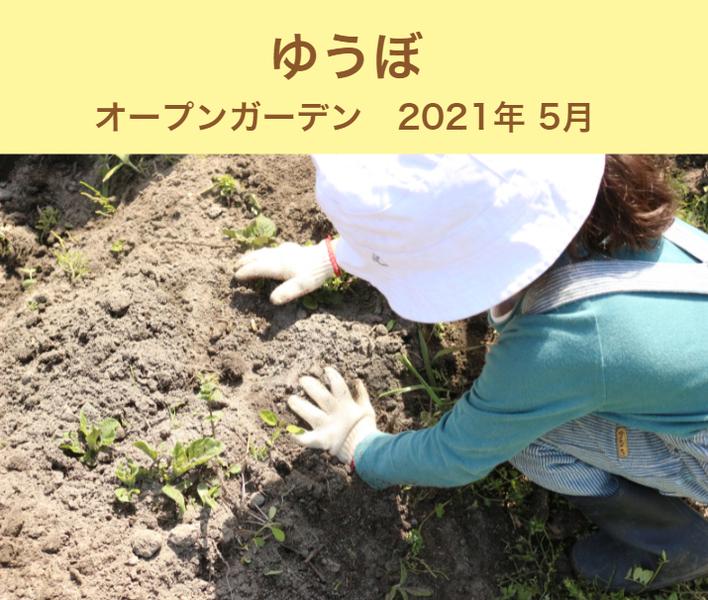 【ゆうぼ】オープンガーデン 2021年春