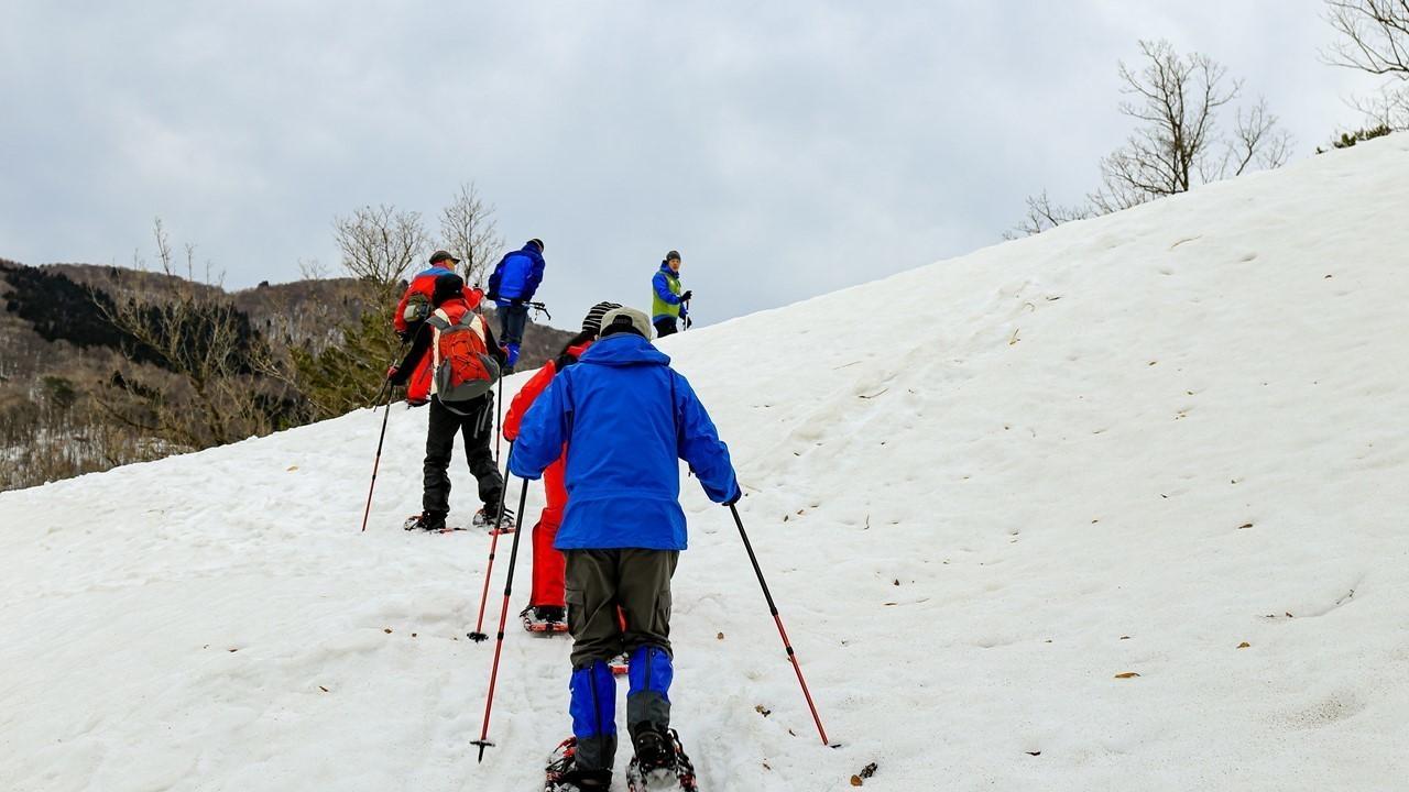 【広島・雪遊び】深入山雪山さんぽ~スノーシューをはいて雪原へ飛び出そう~