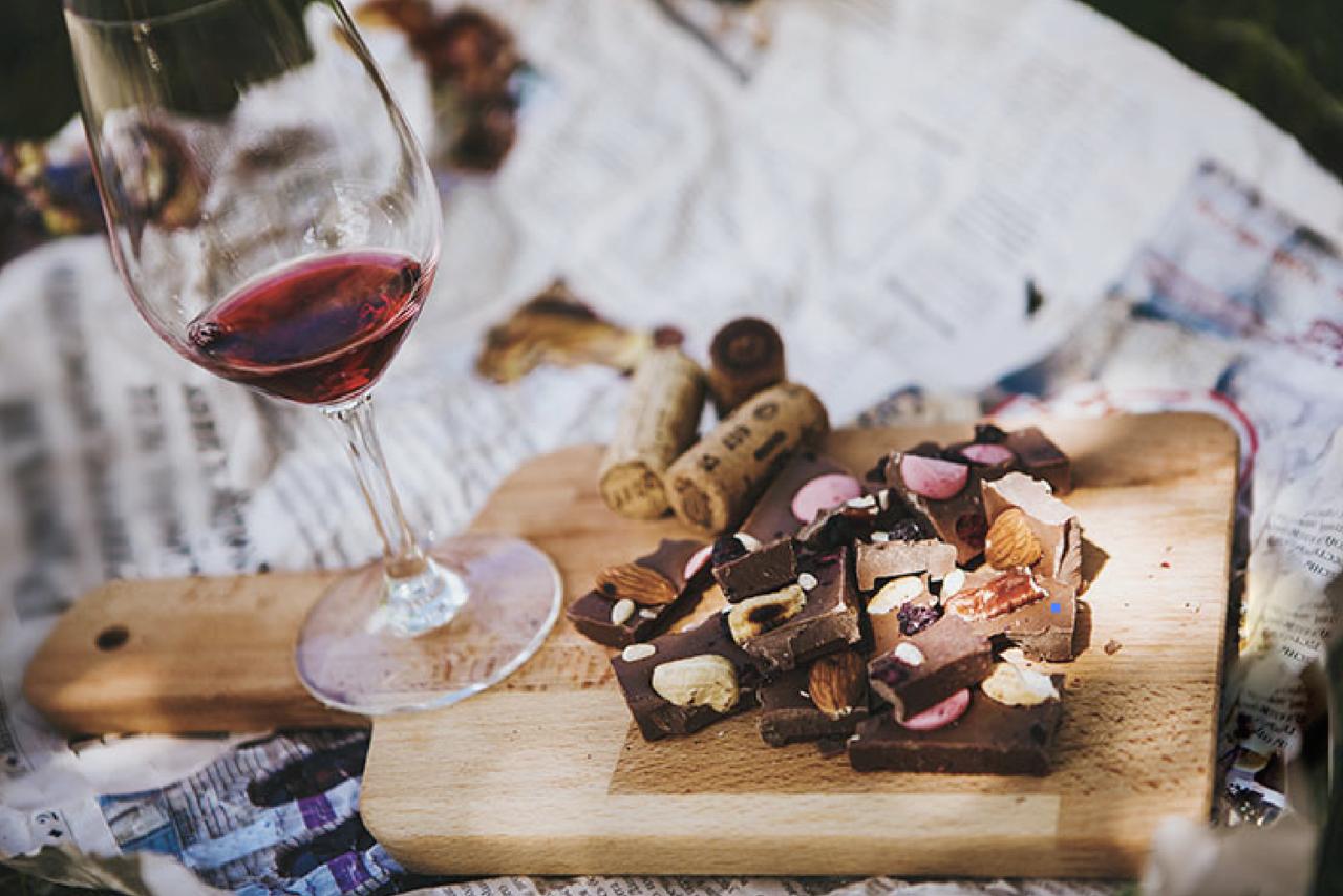 ショコラと合わせるワイン