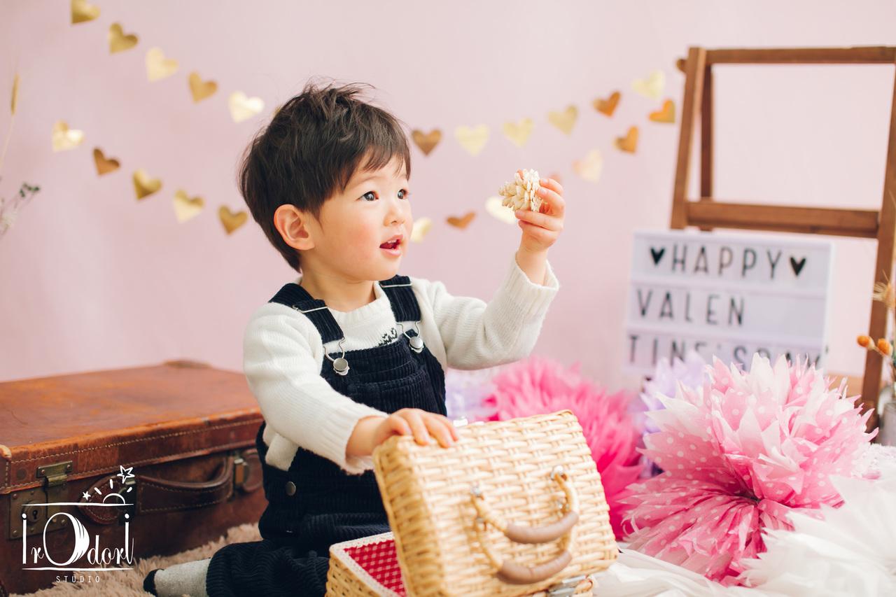 【満席御礼※!】1月22日(水)バレンタイン親子撮影イベント@調布 Irodori Studio