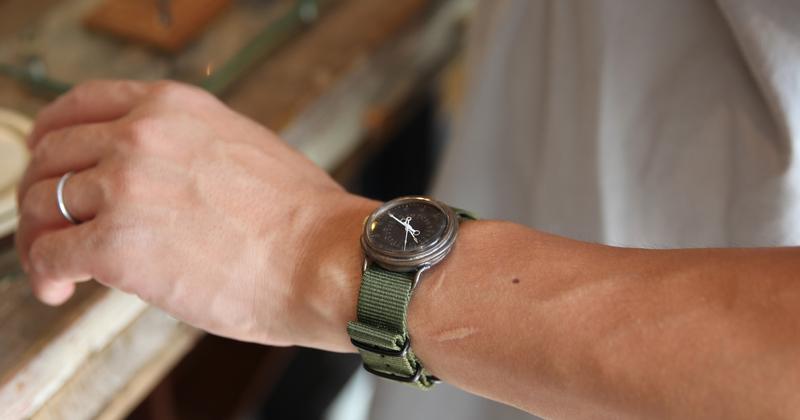atelier coin・大護慎太郎「カスタムメイドの腕時計創ります」