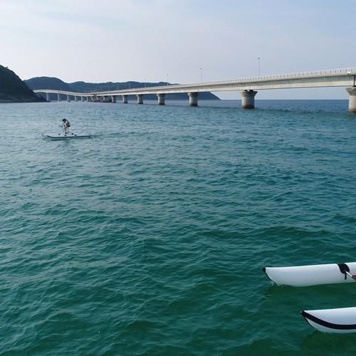 絶景の角島で水上サイクリング体験・1名12000円~参加者が多い方がお得!・ドローン撮影プレゼント・インストラクター付き