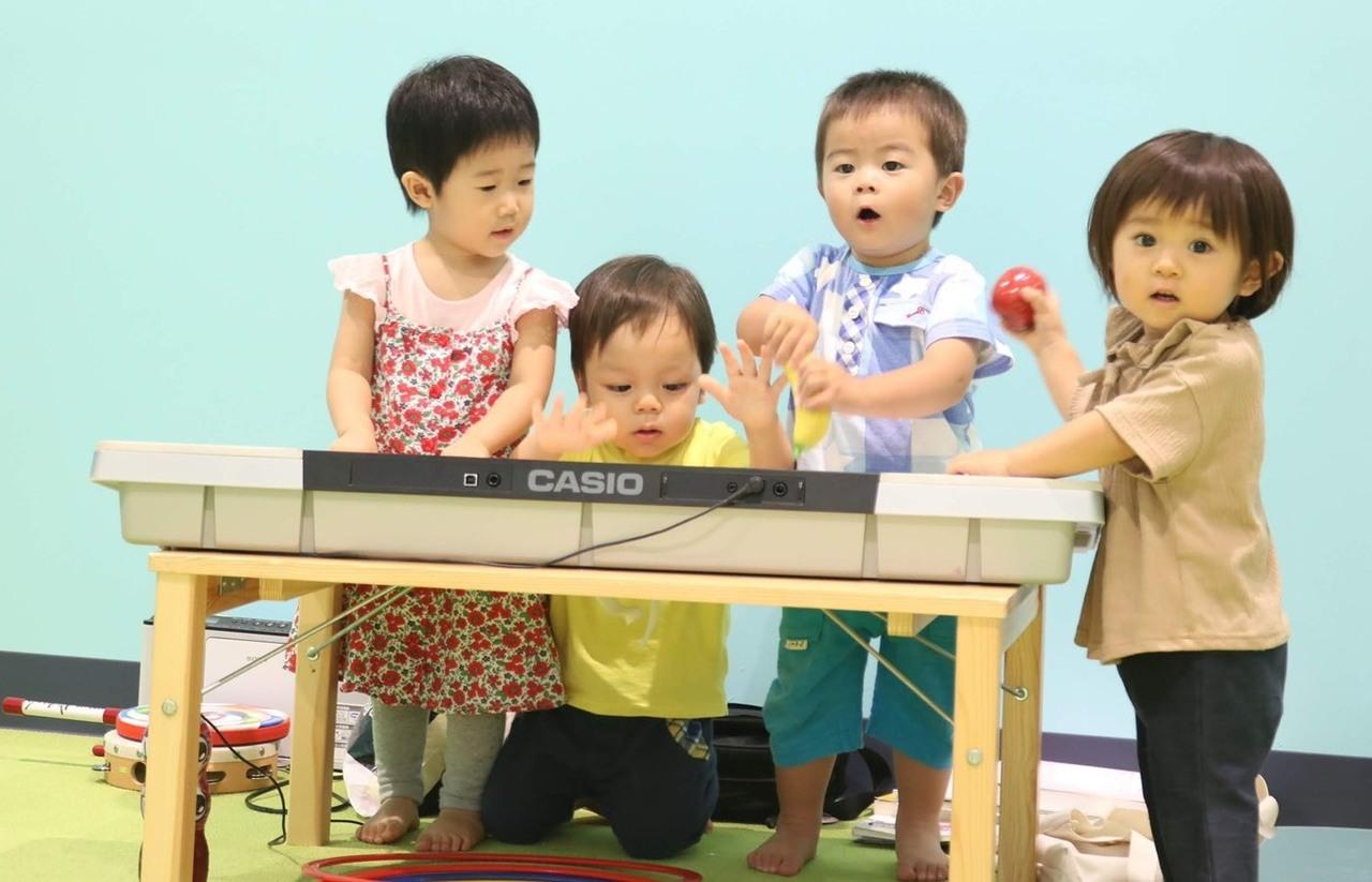 【つどいのひろば】親子でリトミック☆ベビークラス(2ヶ月〜1歳2ヶ月)