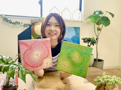 【オンライン限定体験コース】キャンバス(20cm@20cm)-10/30(土)-