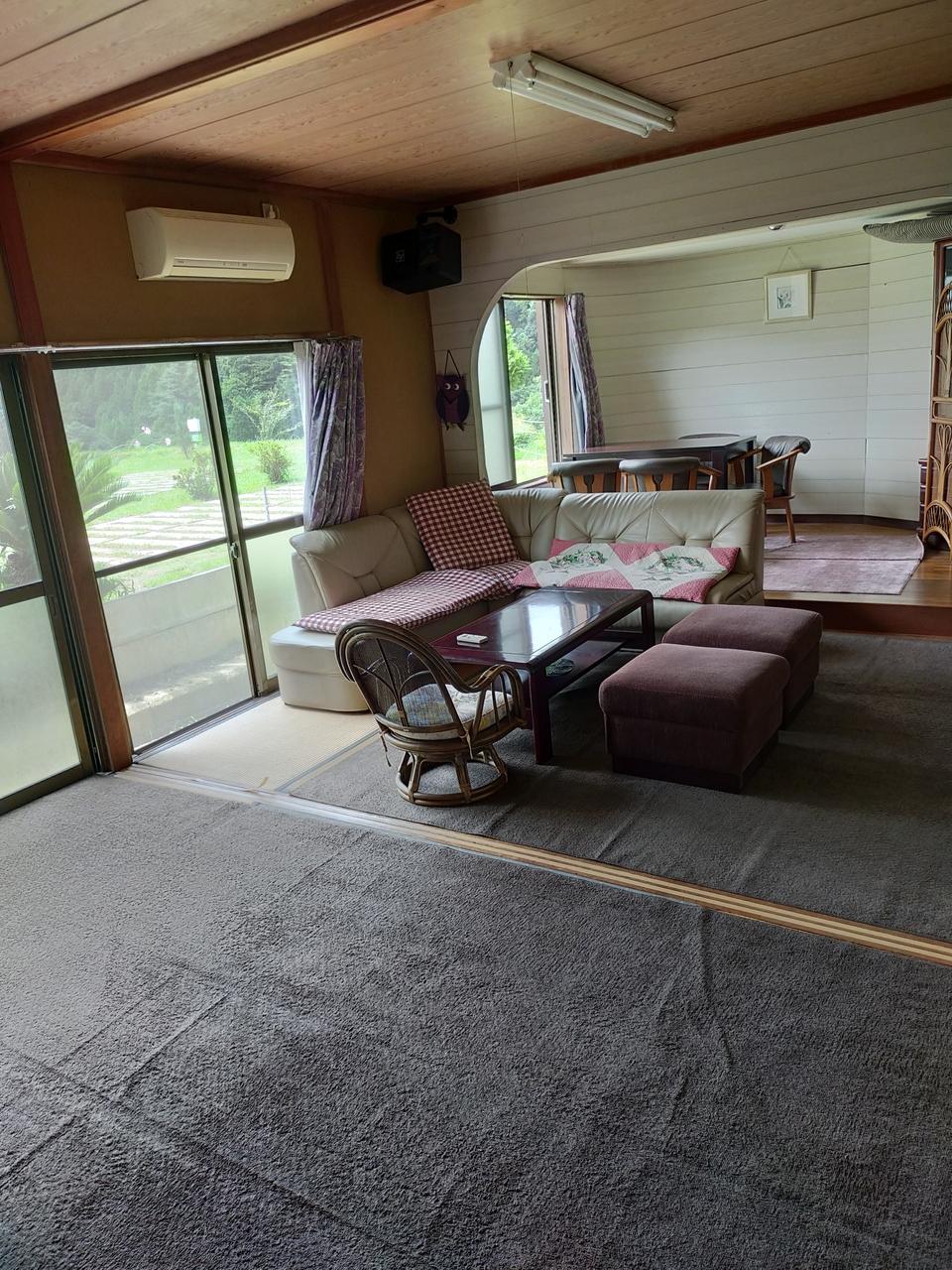 第1サイト貸室「エアコン付き和室15畳」※パーク利用車専用(貸室のみでは予約不可)