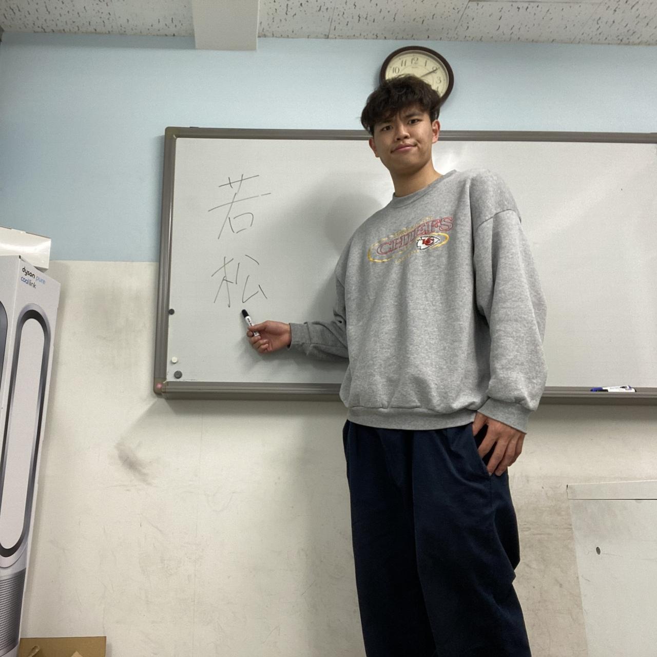 若松先生の個人指導 @本部教室
