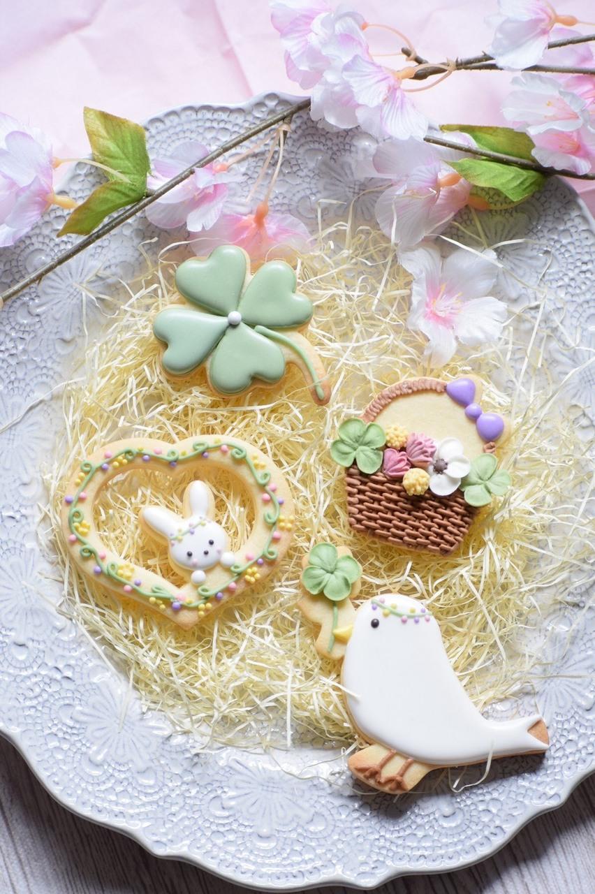 春の日のクッキーLesson