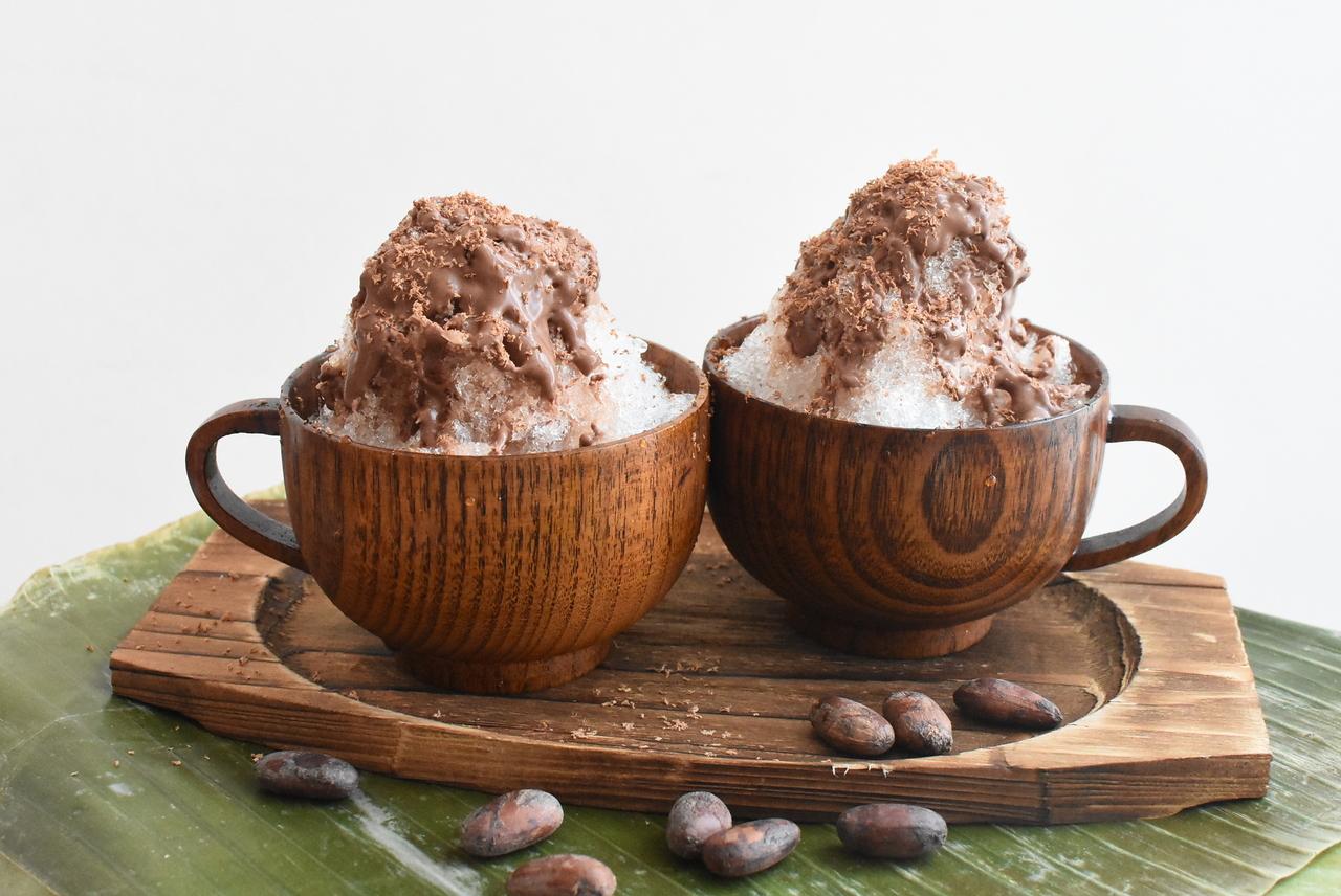 【cacao lab.夏休み企画】「クレヨンチョコレート作り&エスニックかき氷体験」(大人コース)