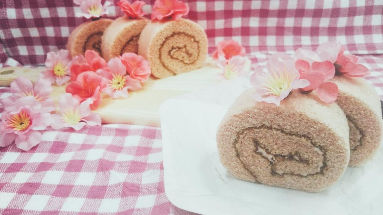 春のスウィーツ作りに♪桜のロールケーキを楽しもう【練馬】2020年3月14日(土)