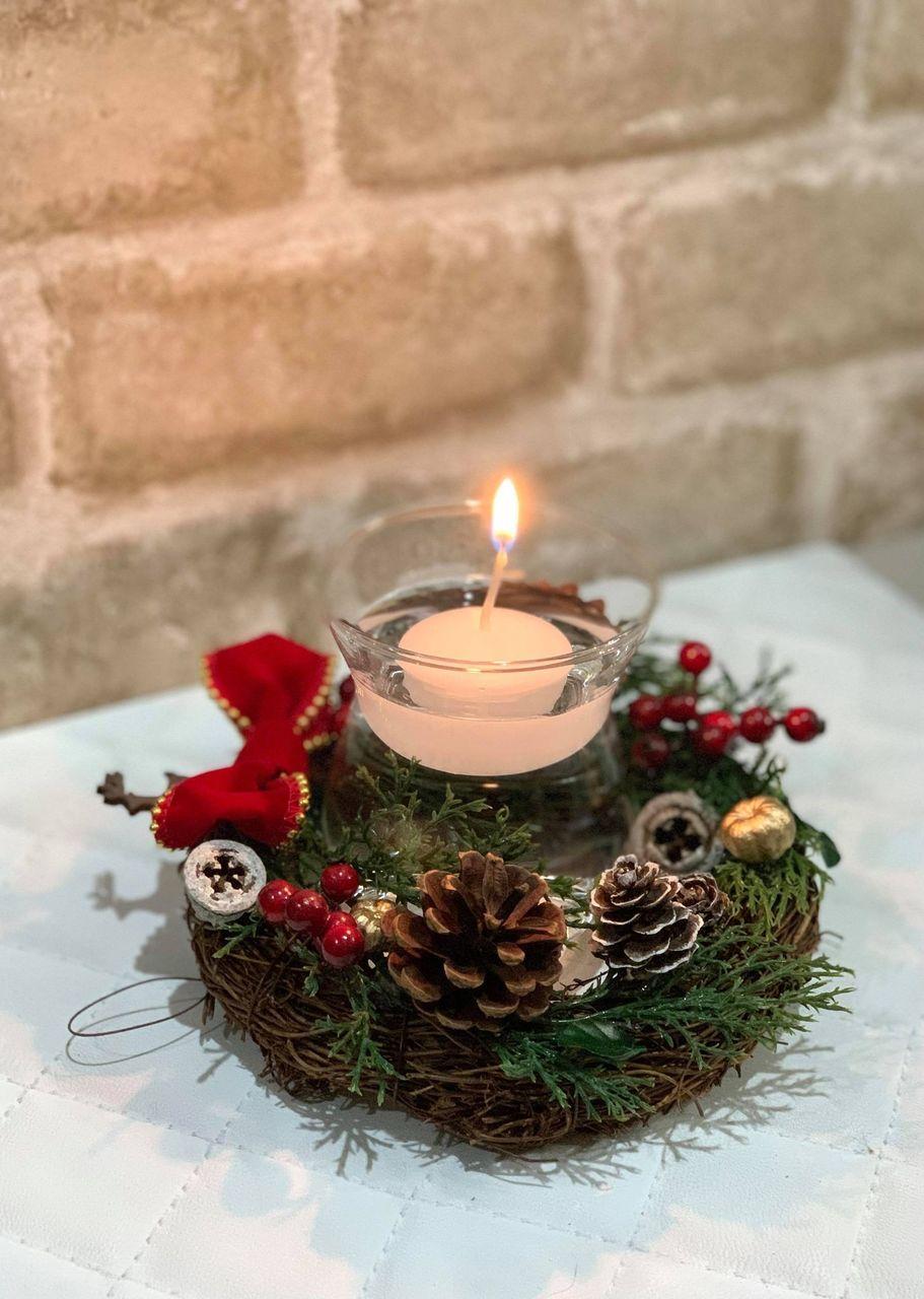 【武蔵小杉】クリスマスハンドメイドマーケット-キャンドルリース作り-|2020年12月12日(土)