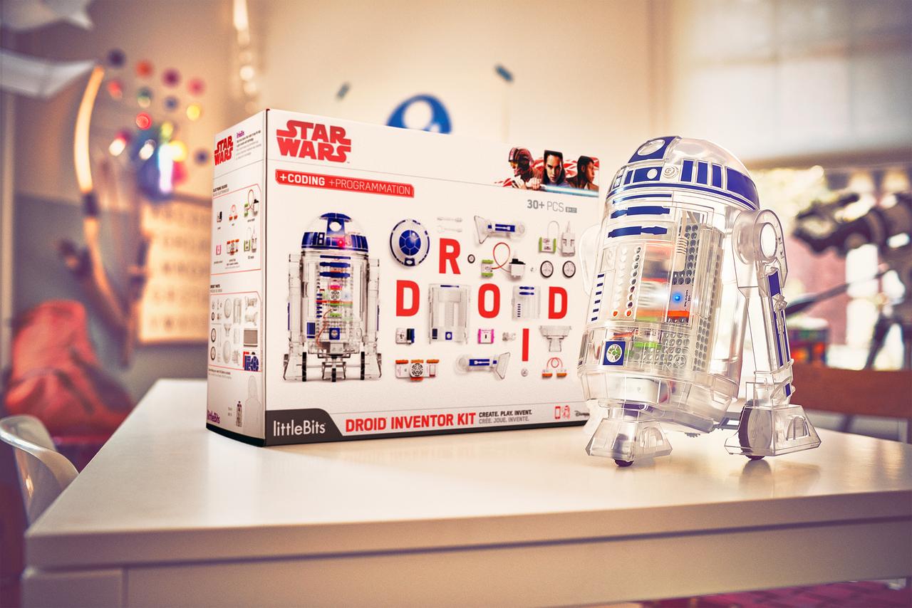 ロボットコース『littleBits Droidミッション』