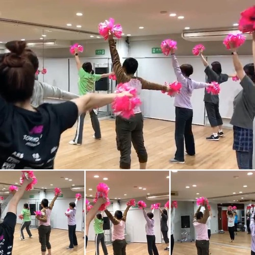 初めてのチアダンスNEW!! キャンサーチア基礎教室 @赤坂 2019年12月19日(木)17:50〜