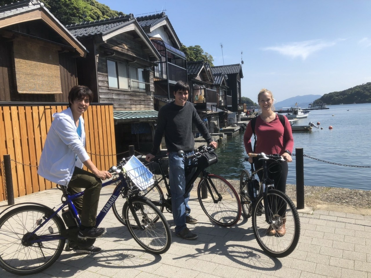 Ine bay cruising e-BIKE tour