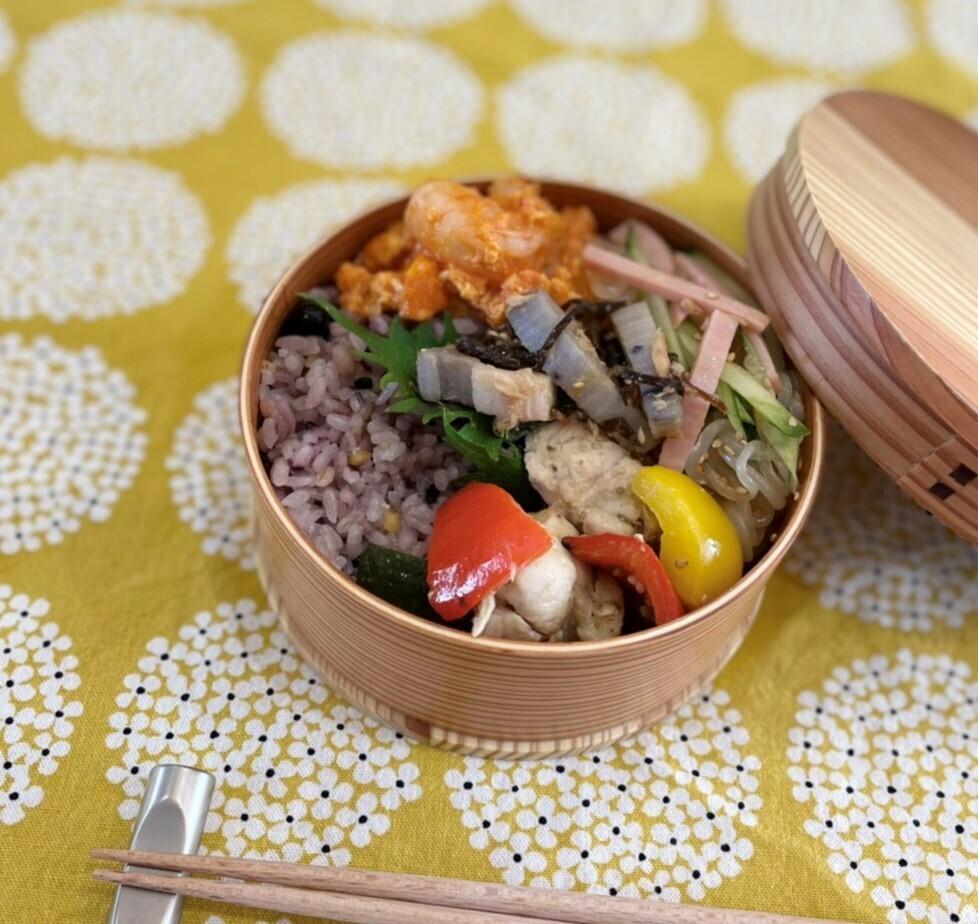 【八千代・Brume】 つくりおきおかずで夏野菜弁当 (お持ち帰りのみ)