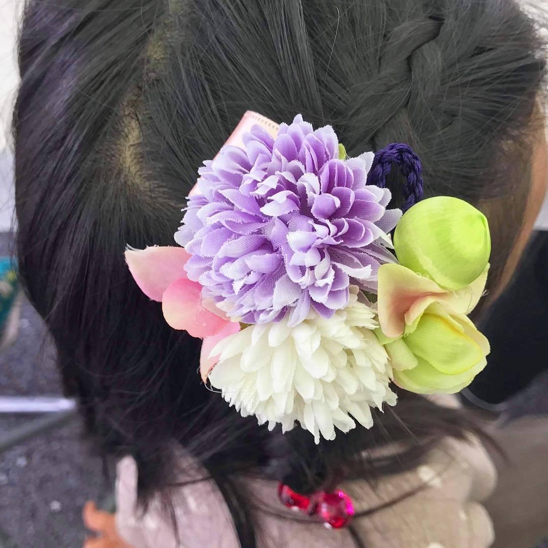 【練馬】花柄の髪飾り作りワークショップ 2019年11月4日(月休)