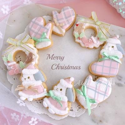 〈12月マンスリー〉クリスマスアイシングレッスン2019