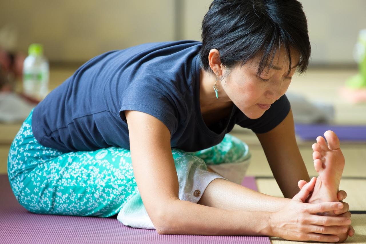 イベントレッスン :心と体を癒すヒーリングヨガ(60分) Mina
