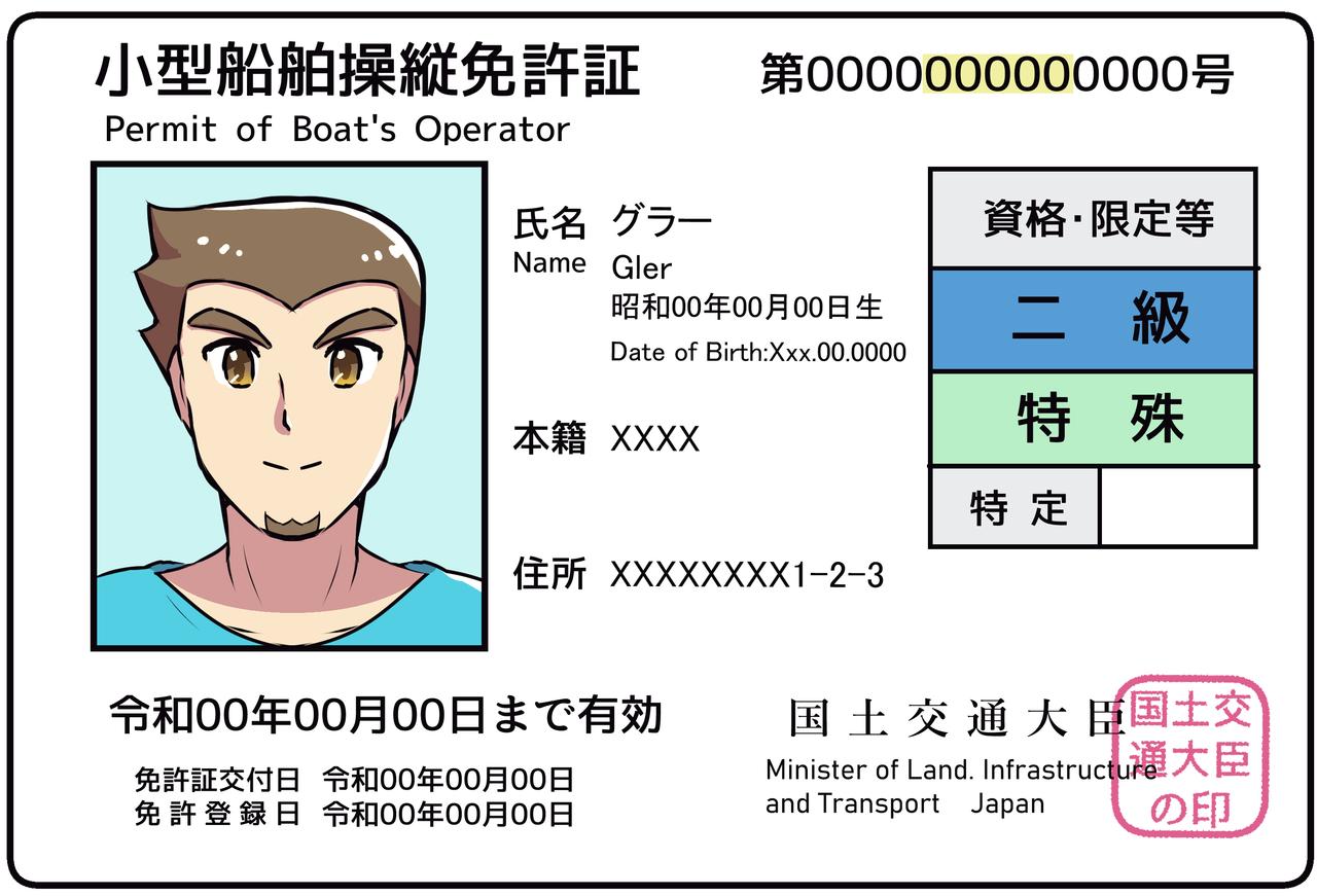 【免許の失効・紛失】大阪大手前会場<海洋レジャ協会2F>