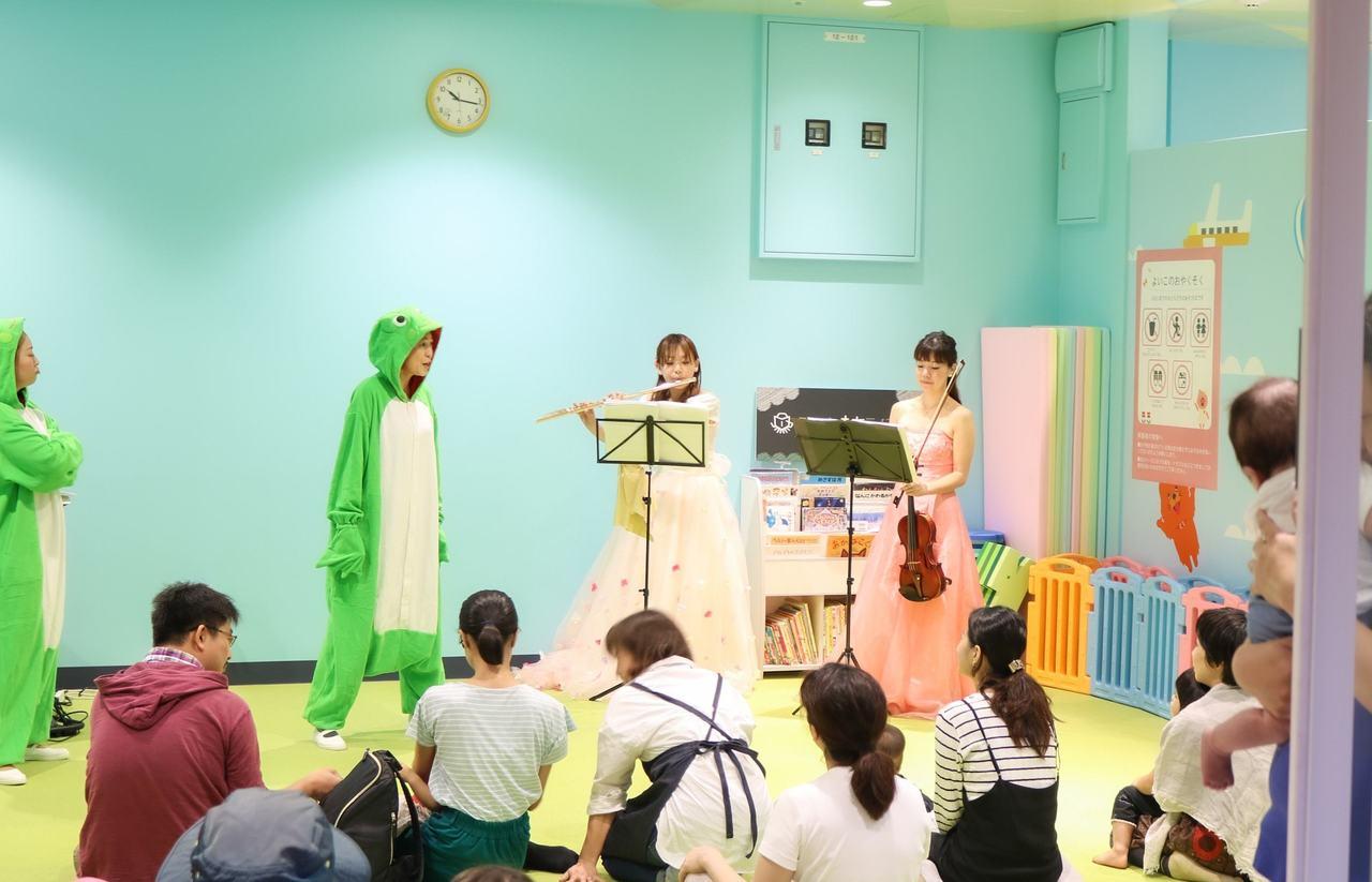 【つどいのひろば】♪絵本で遊ぶ音楽会♪