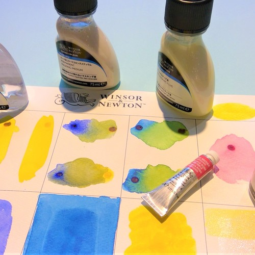 K.Itoya6階【水彩】ウィンザー&ニュートン 水彩絵具と水彩メディウム体験会 12月8日(日)
