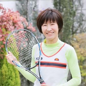 テニスで笑顔サークル