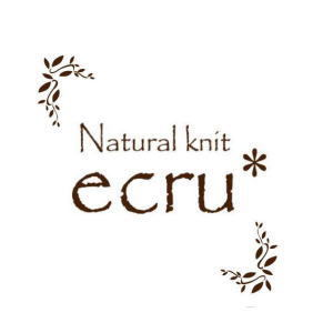 編み物教室 Natural knit ecru*