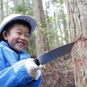 「6歳になったら机を作ろう!」木こり体験&机づくり