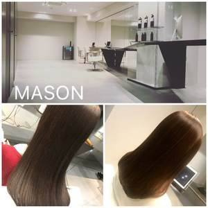 Second consecutive year BEST SALON Award-winning salon 【MASON】 Overwhelming support for hair care