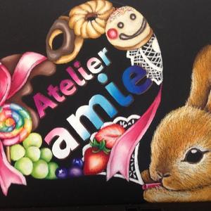 岐阜のチョークアート教室Atelier amie(アトリエアミー)