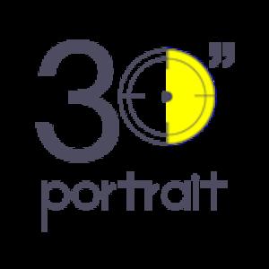 """30""""portrait"""